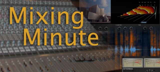 Mixing Minute